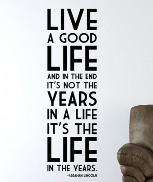 of Abraham Lincoln Quote About Life reminds me. Abraham Lincoln Quotes ...