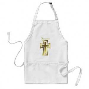 He Is Risen Aprons