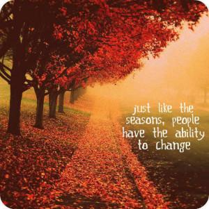 Fall Season Quotes and Sayings