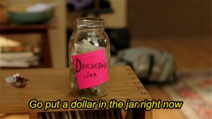 Schmidt Douchebag Jar
