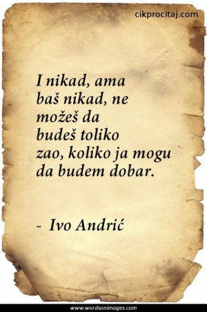 Ivo andric quotes