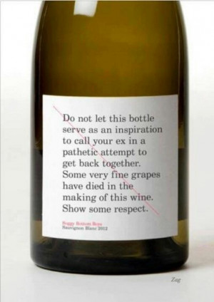 Not a wine drinker but this is funny