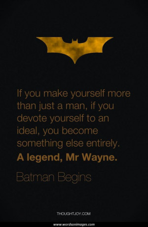 Related for: Famous Batman Quotes