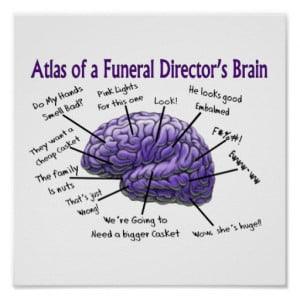 Funeral Director/Mortician Funny Poster