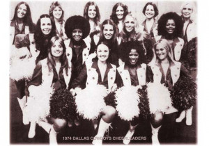 Dallas Cowboys Cheerleaders 1979 Squad