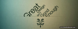 Great Design Quotes Facebook Timeline Cover