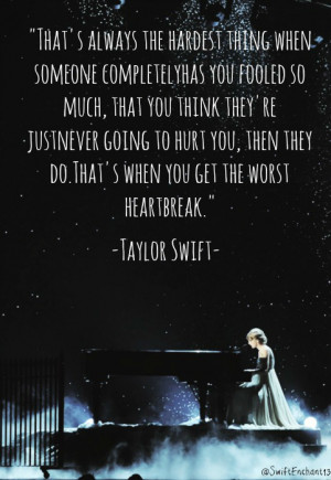 Heart Broken Quotes From Taylor Swift Quotesgram