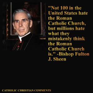 Just 4 tweet #2: Archbishop Fulton J. Sheen's Quotes