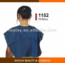 Professional chemical proof polyester blue hair dye cape of hair salon