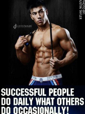 Successful people do motivational fitness quotes for men