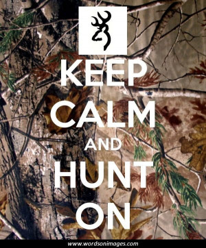 Quotes About Hunting Deer