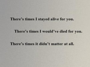 If you like three days grace quotes, you might be interested to see ...