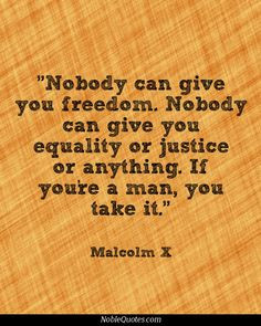 malcolm x quotes noblequotes com more malcolm x quotes http ...