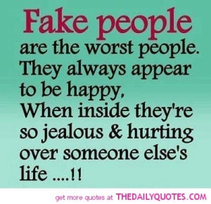 Hate fake People If Your fake Dont Follow Me Or Like Any Of My ...