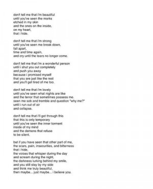 love boys quote life depression sad pain alone broken dark help ...