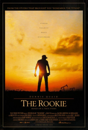 The Rookie Movie Poster - Internet Movie Poster Awards Gallery