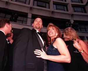 Paula Jones and Susan Carpenter McMillan