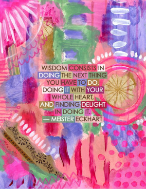 Wisdom. Meister Eckhart #quote
