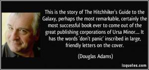 More Douglas Adams Quotes