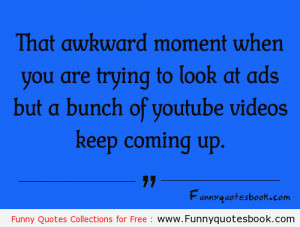Funny Quotes about Youtube ads