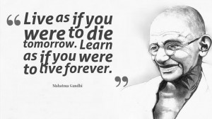 ... Jayanti, it's good to re-visit some of his most inspiring quotes