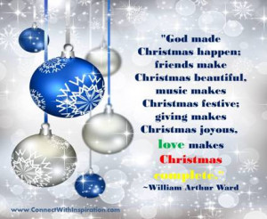 Christmas, Quotes, Love Makes Christmas Complete