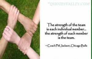 The Strength Of The Team Is Each Individual Member