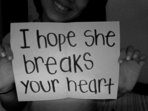 black and white, break, heart, quotes, she