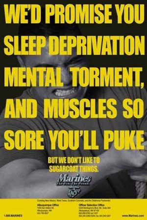 One of my favorite Marine Corps recruiting posters.
