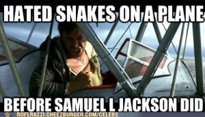 Hated Snakes on a Plane