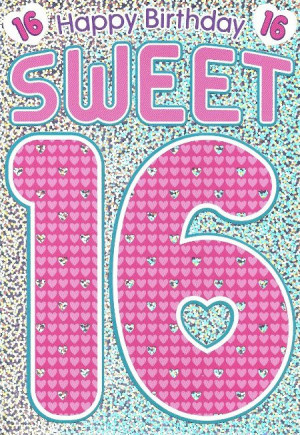 Happy Sweet 16th Birthday Messages Happy birthday sweet 16
