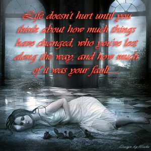 ... !Emotional card ! Heart touching quotes ! Sad quotes about pain