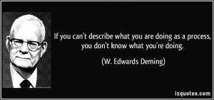 More W. Edwards Deming Quotes