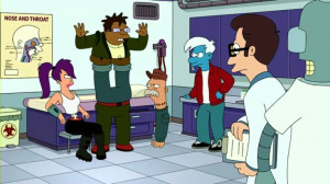 Professor Zoidberg asks to stay with him and the day that the disease ...