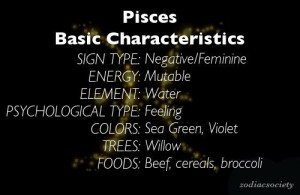 Zodiac Pisces Quotes And Sayings