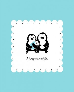 Penguin Baby Room Decor