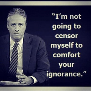 ... not going to censor myself to comfort your ignorance.