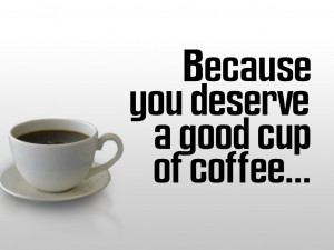 Coffee Quotes HD Wallpaper 17
