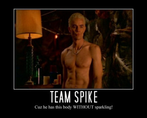 Buffy the Vampire Slayer Without Sparkling