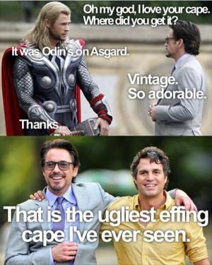 funny avengers