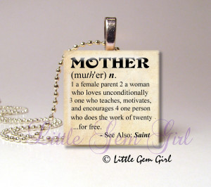 Mean Mother In Law Quotes Mother mom necklace charm