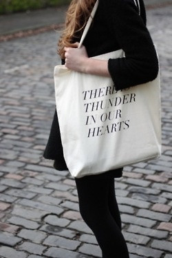 Kate Bush quote-tote. Want.