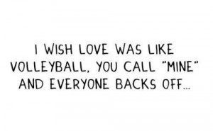 Love Was Like Volleyball