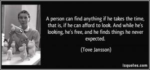 More Tove Jansson Quotes