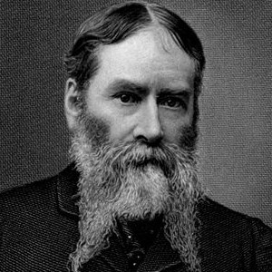 photograph of James Russell Lowell.