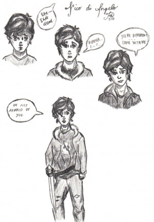 Nico Di Angelo Quotes House Of Hades Nico through the years by