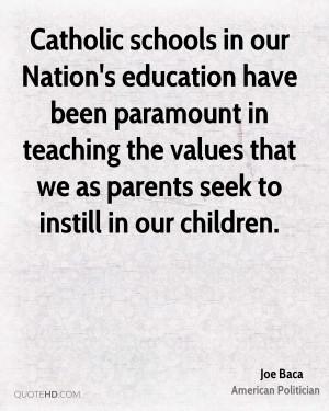 Catholic Education Quotes