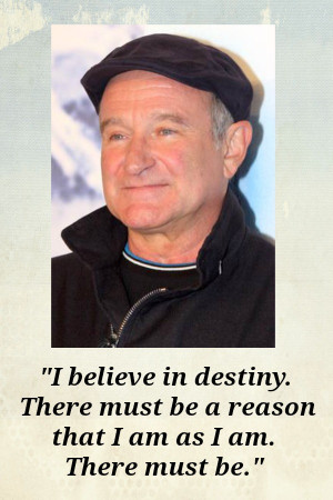... the Galaxy I was hit hard by the reported suicide of Robin Williams