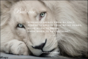 Heart Of A Lion Quotes White lion pamela quote