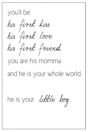Baby Boy Quotes From Mommy Mommy quotes